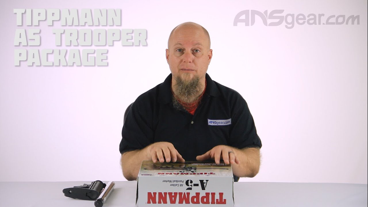 Ensemble Tippmann A5 Trooper – Critique
