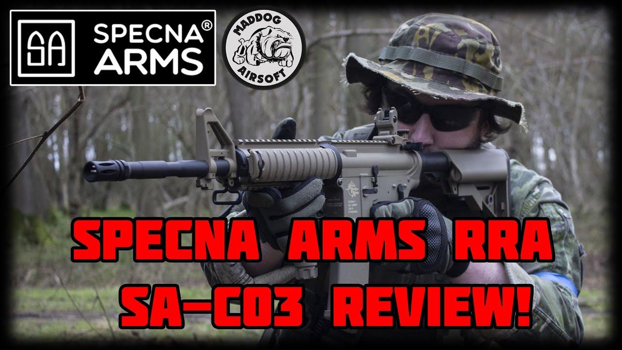 [Specna Arms Rock River Arms SA-C03] La revue! Super pack de départ?!