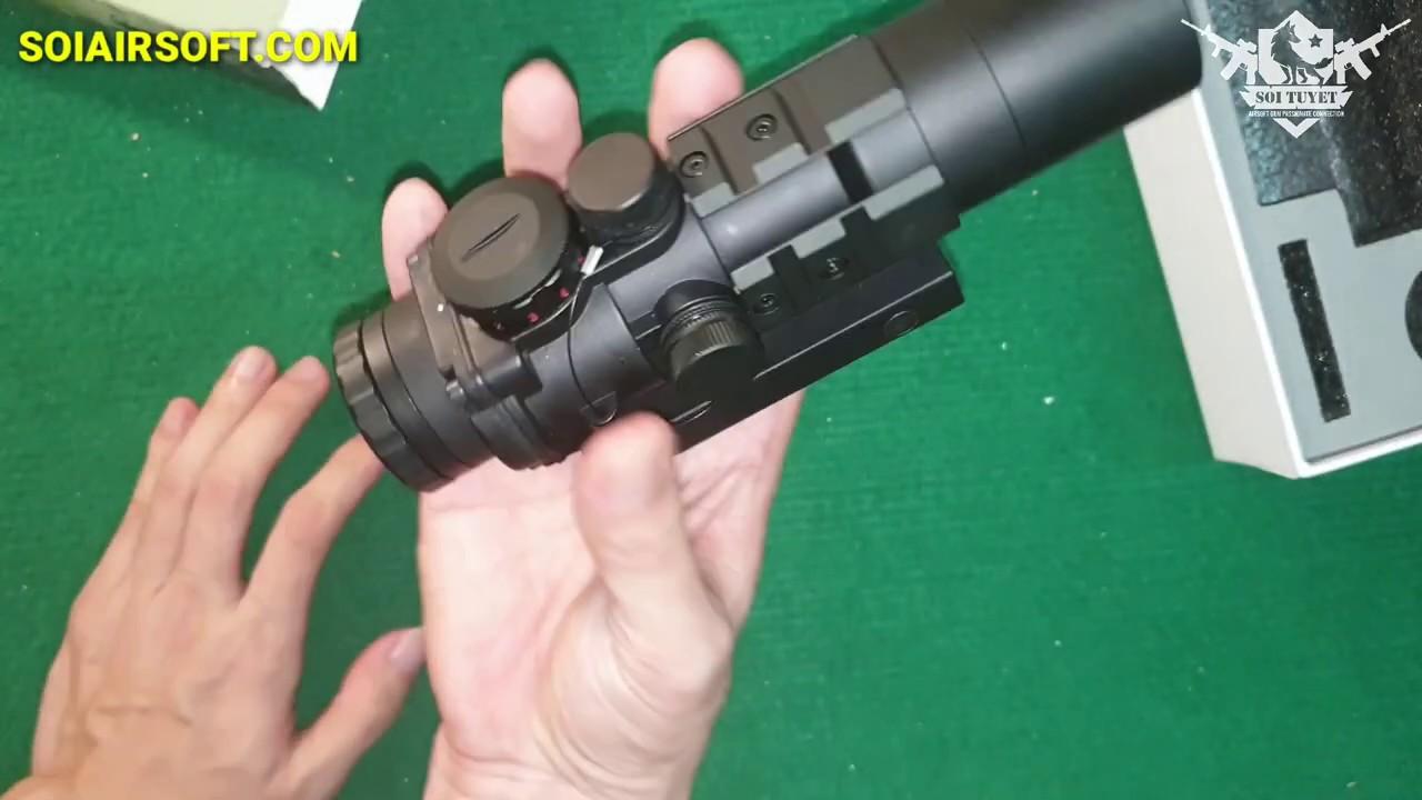 # SOIAIRSOFT.COM – Lunette de visée Burris AR-332 3×32 tactique abordable