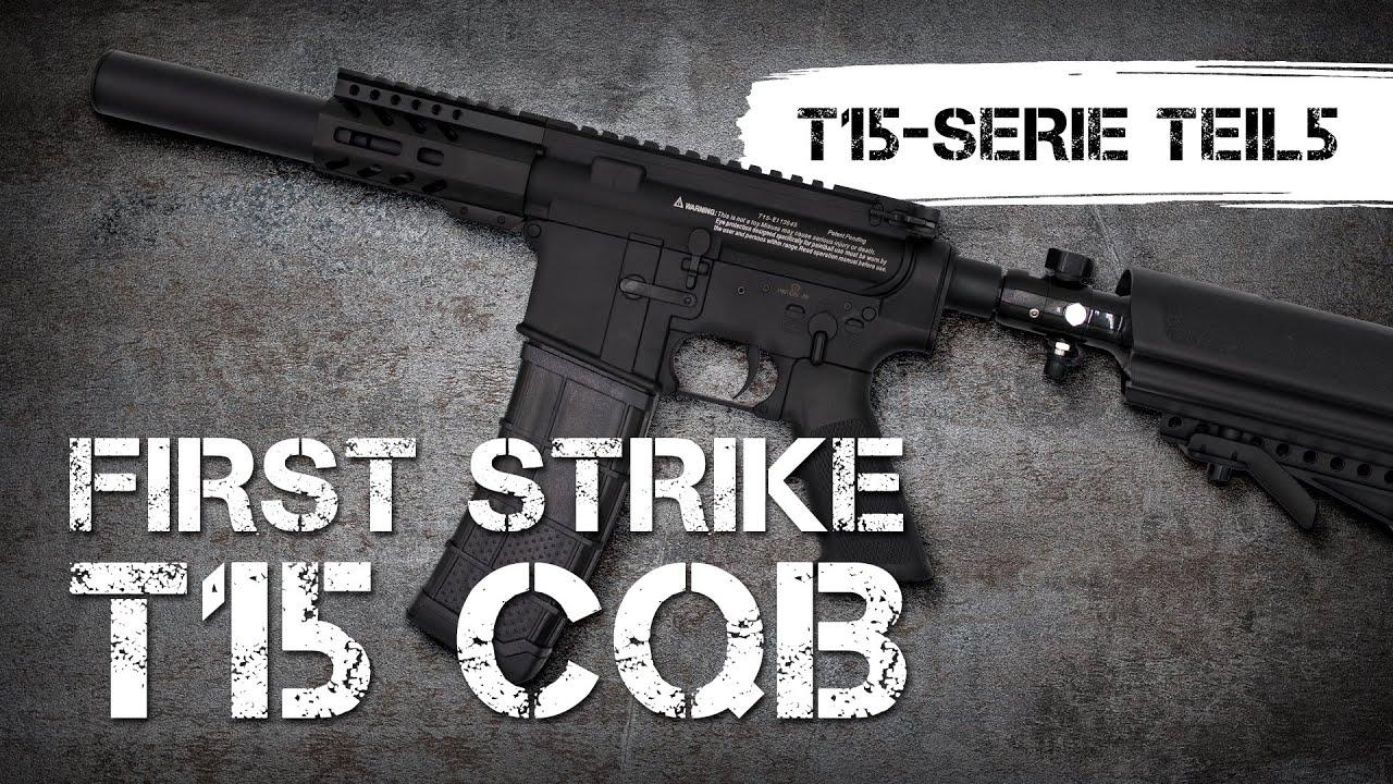 Revue du marqueur First Strike T15 CQB, série vidéo TEIL5 (allemand)