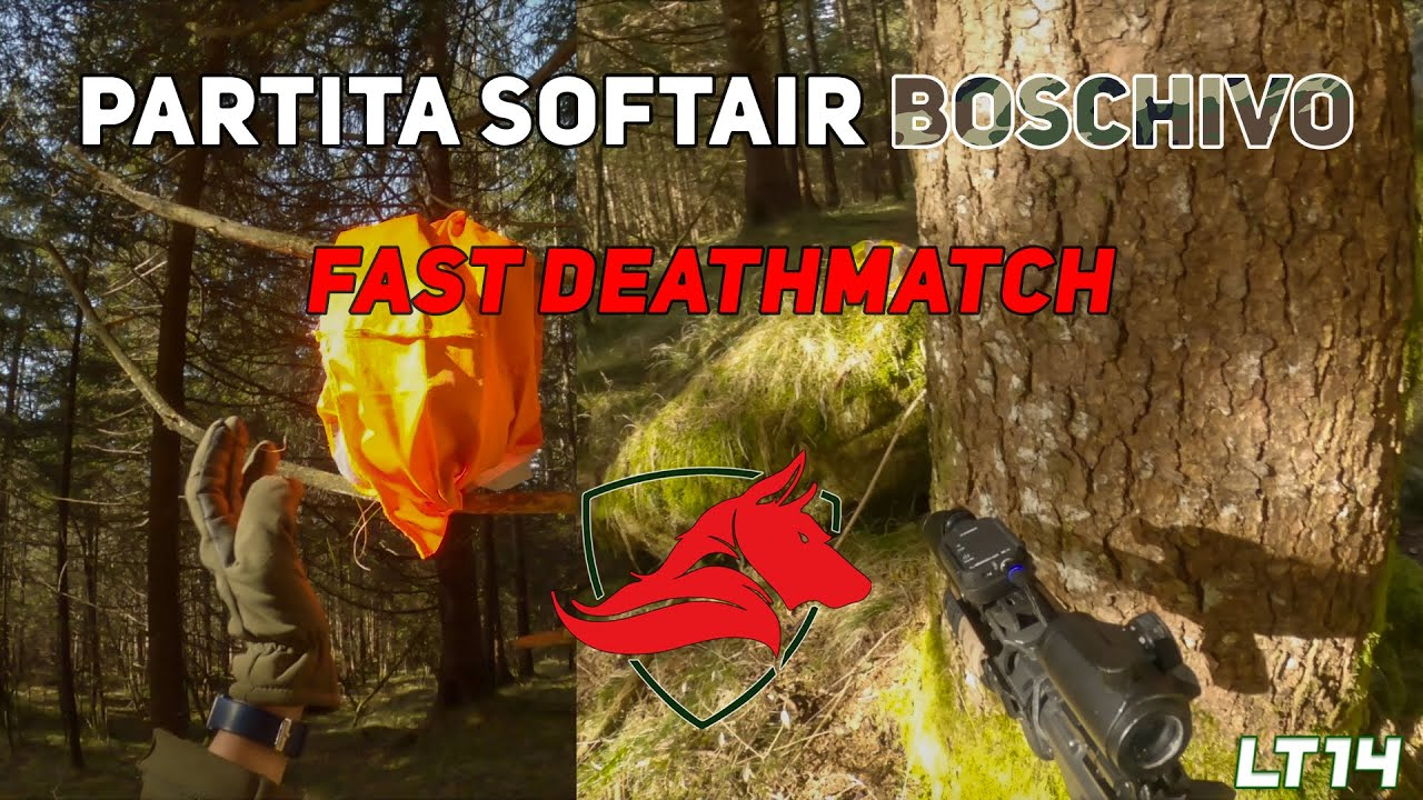 Gameplay Match à mort rapide || Airsoft Wooded (avec Lupi Val Seriana) [ITA] # 4