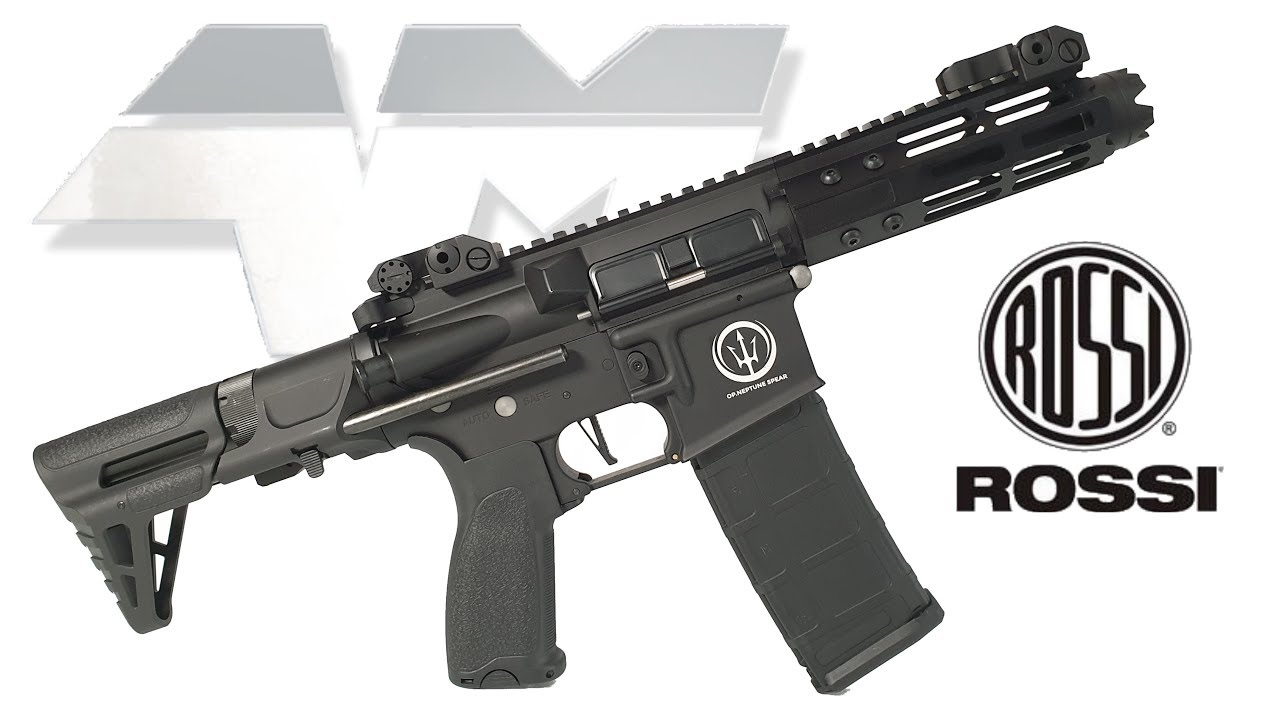 ROSSI NEPTUNE 5.5 PDW / Airsoft Unboxing Review
