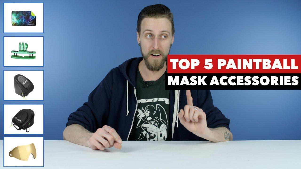 Meilleurs accessoires pour masque de paintball