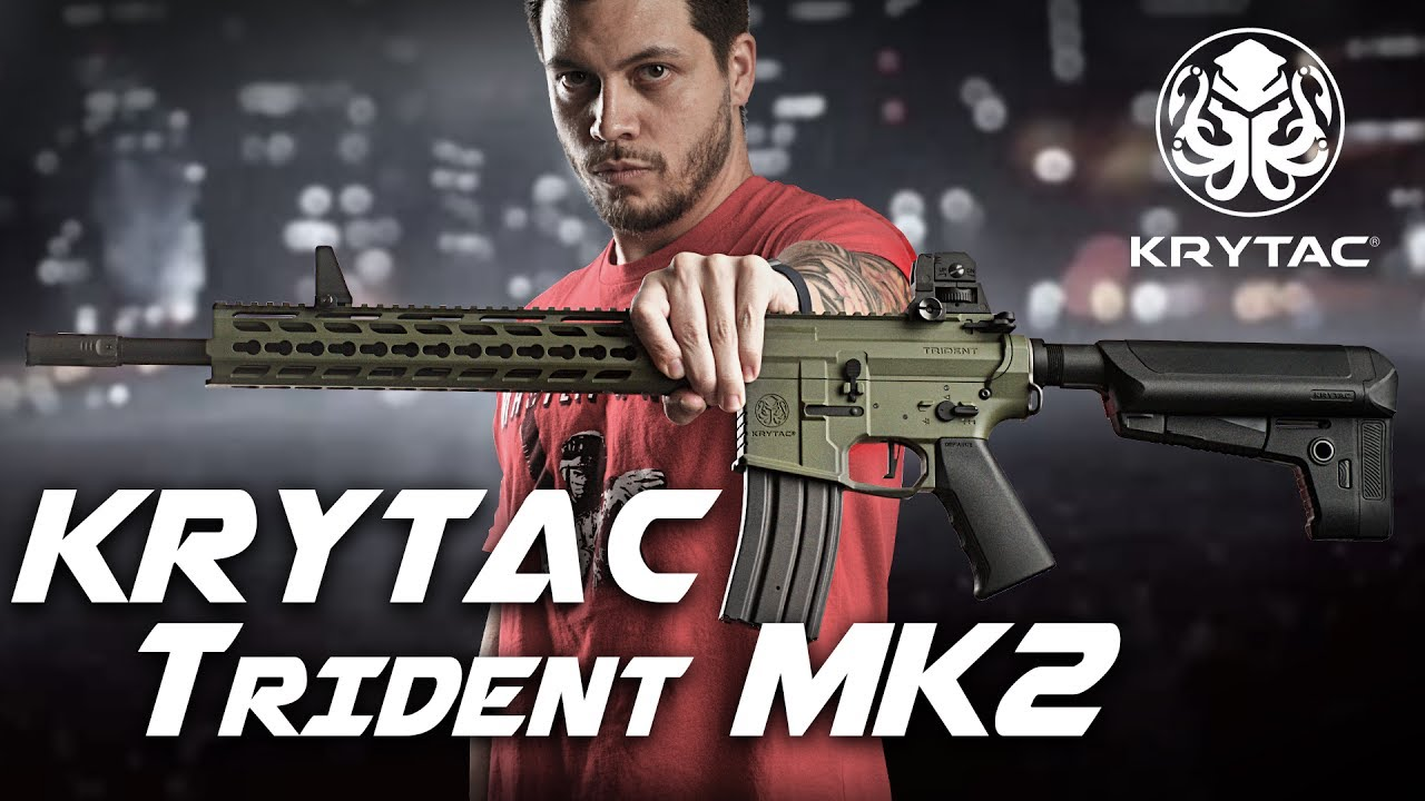 Meilleur AEG prêt à l'emploi – Krytac Trident MK2 AEG – RedWolf Airsoft RWTV
