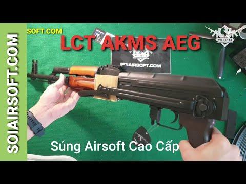 # SOIAIRSOFT.COM – Pistolet airsoft haut de gamme LCT AKMS aeg