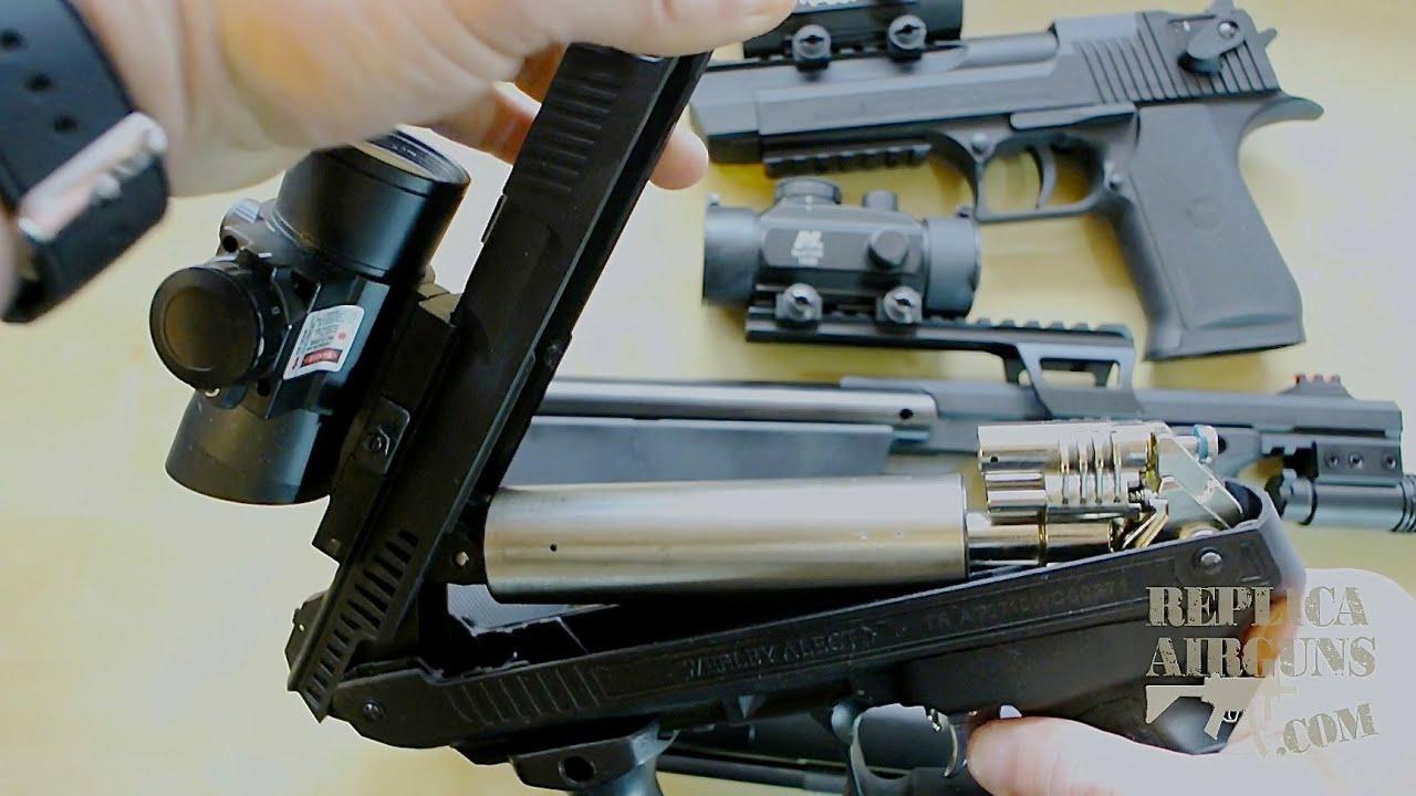 Comparaison des pistolets à air CO2 à ressort et à pompe
