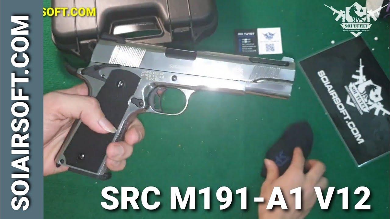 # SOIAIRSOFT.COM – SRC M191-A1 V12 SRV-12-SV code des pistolets Airsoft abordables