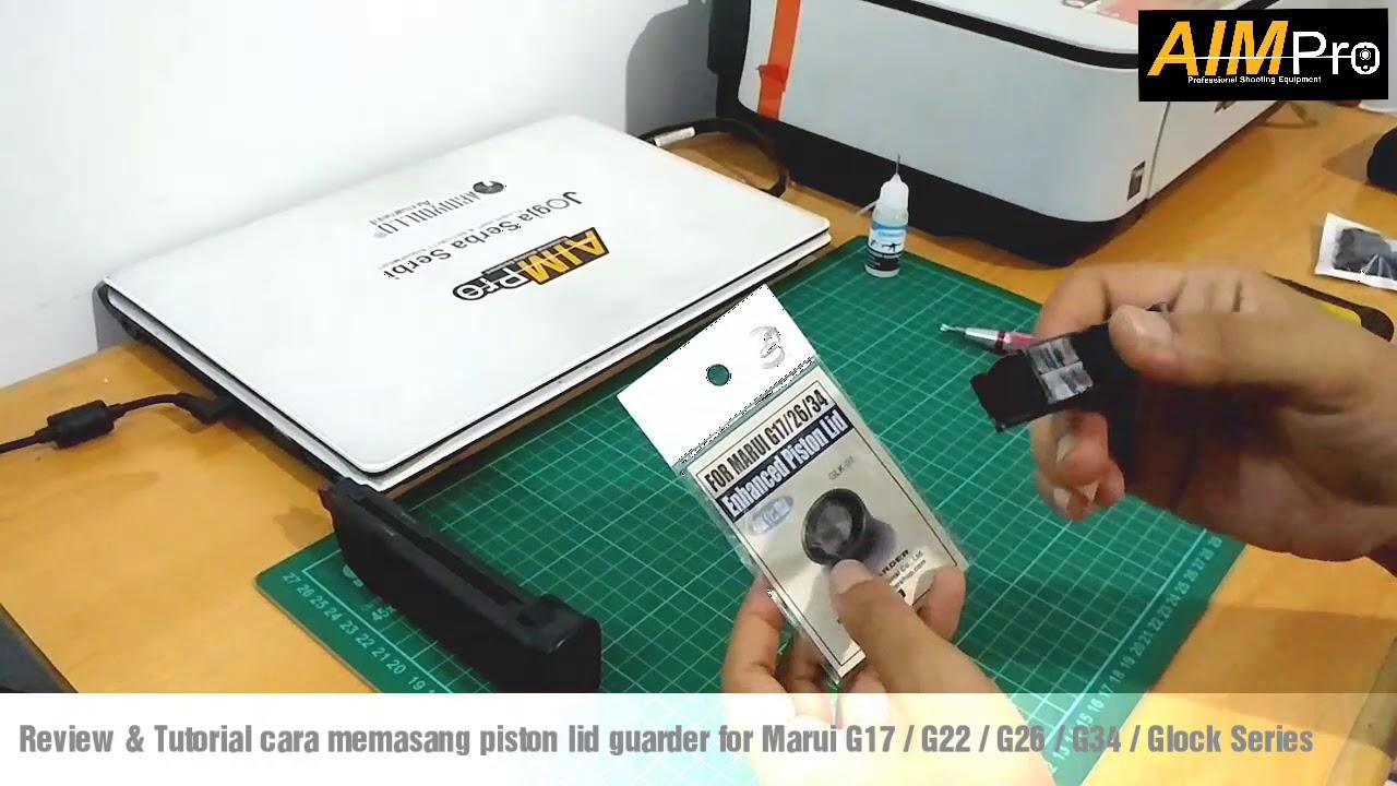 Tutoriel Comment installer le protège-couvercle de piston pour Airsoft Marui G17 / G26 / G34 / Glock par AIMPro