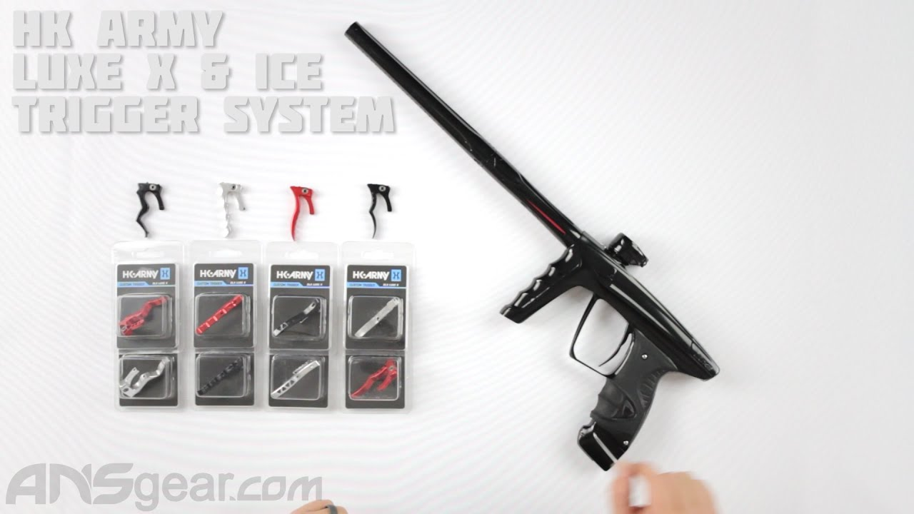 HK Army Luxe X & Ice Trigger System – Critique