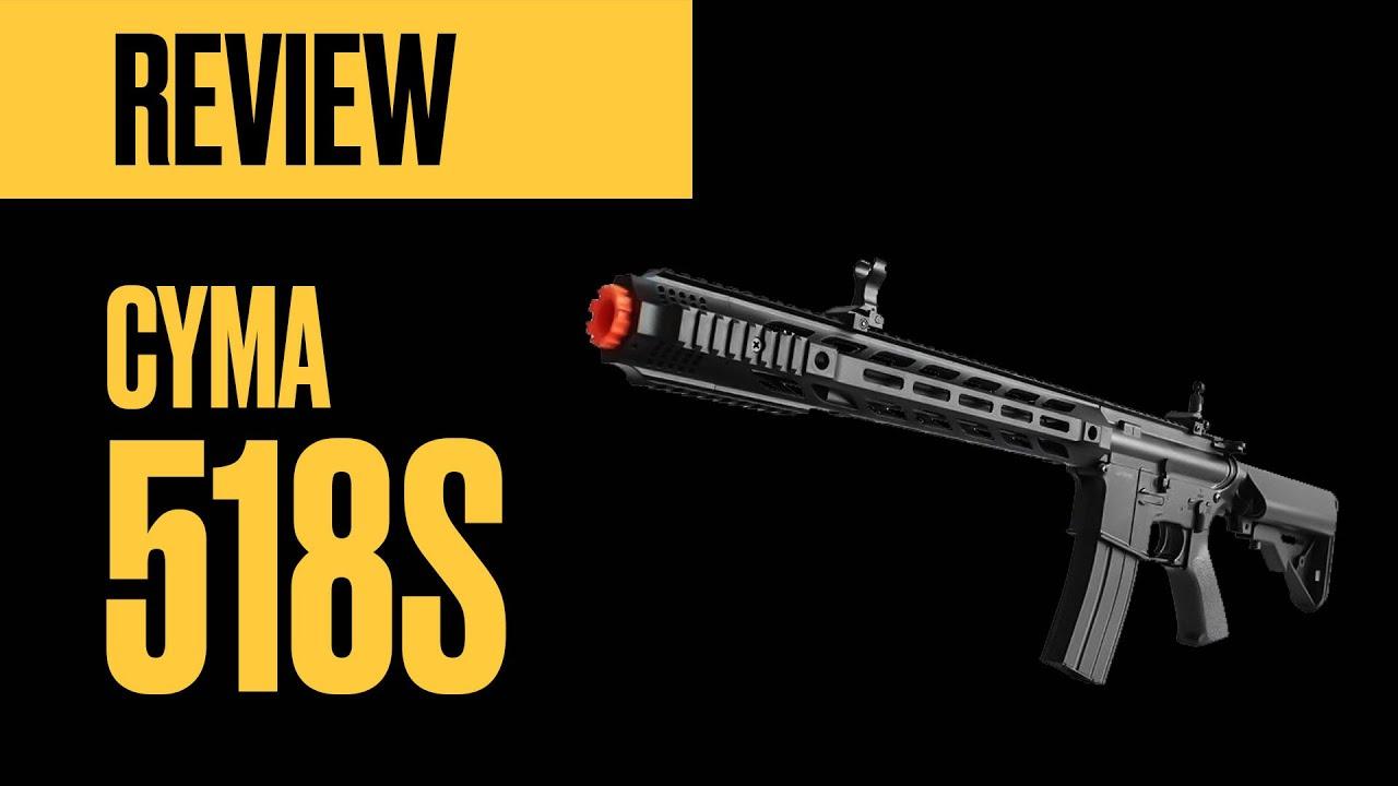 Examen détaillé – Airsoft Rifle CYMA CM-518s (AEG)