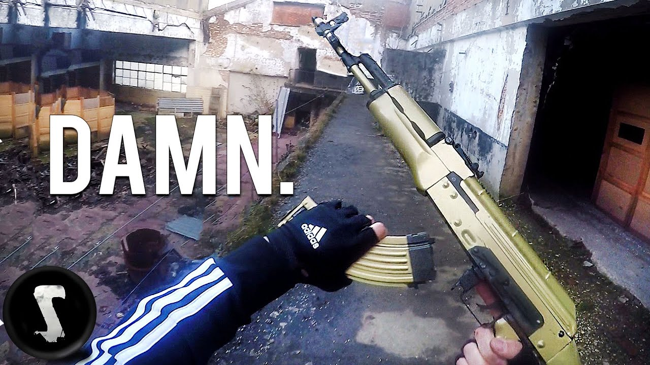 Le Golden Overpowered Airsoft AK47 que vous voudrez.