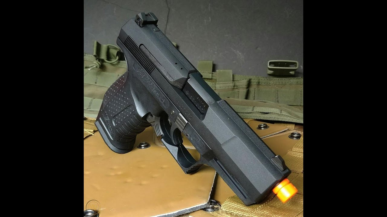 Revue et test de tir du pistolet à gaz Walther P99   Dr. Airsoft