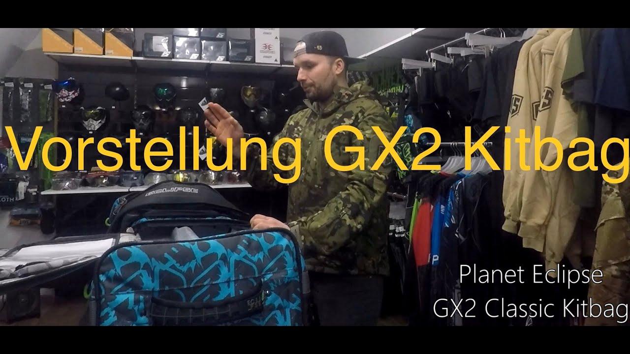 AREA13 | Planet Eclipse Kitbag / Gearbag GX2 Classic | Revue de présentation | Paintball et airsoft