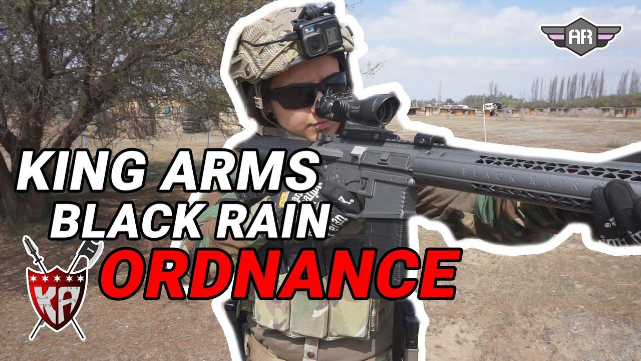 REVUE – KING ARMS BLACK RAIN ORDNANCE !!