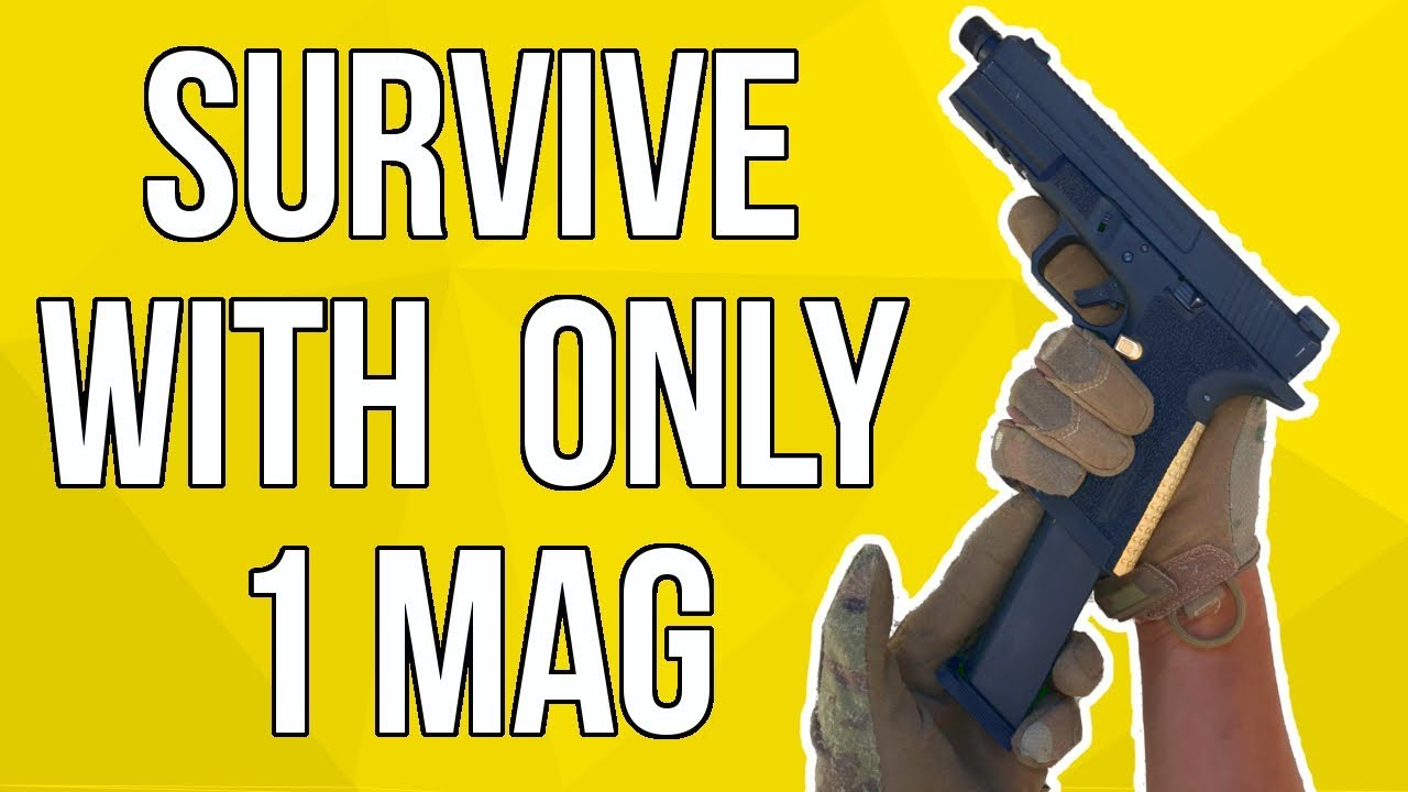 Survivez avec SEULEMENT 1 Pistol Mag dans un jeu Airsoft   SS Airsoft (EMG SAI BLU)