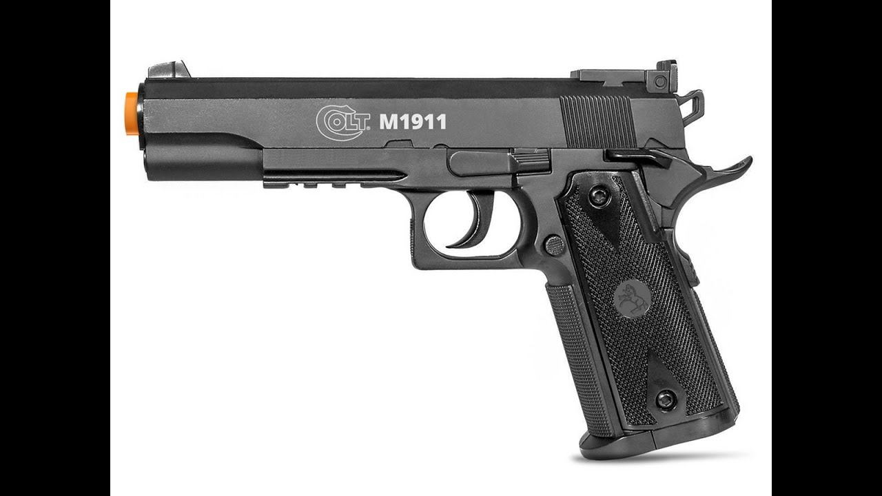 Test de tir Airsoft Colt 1911