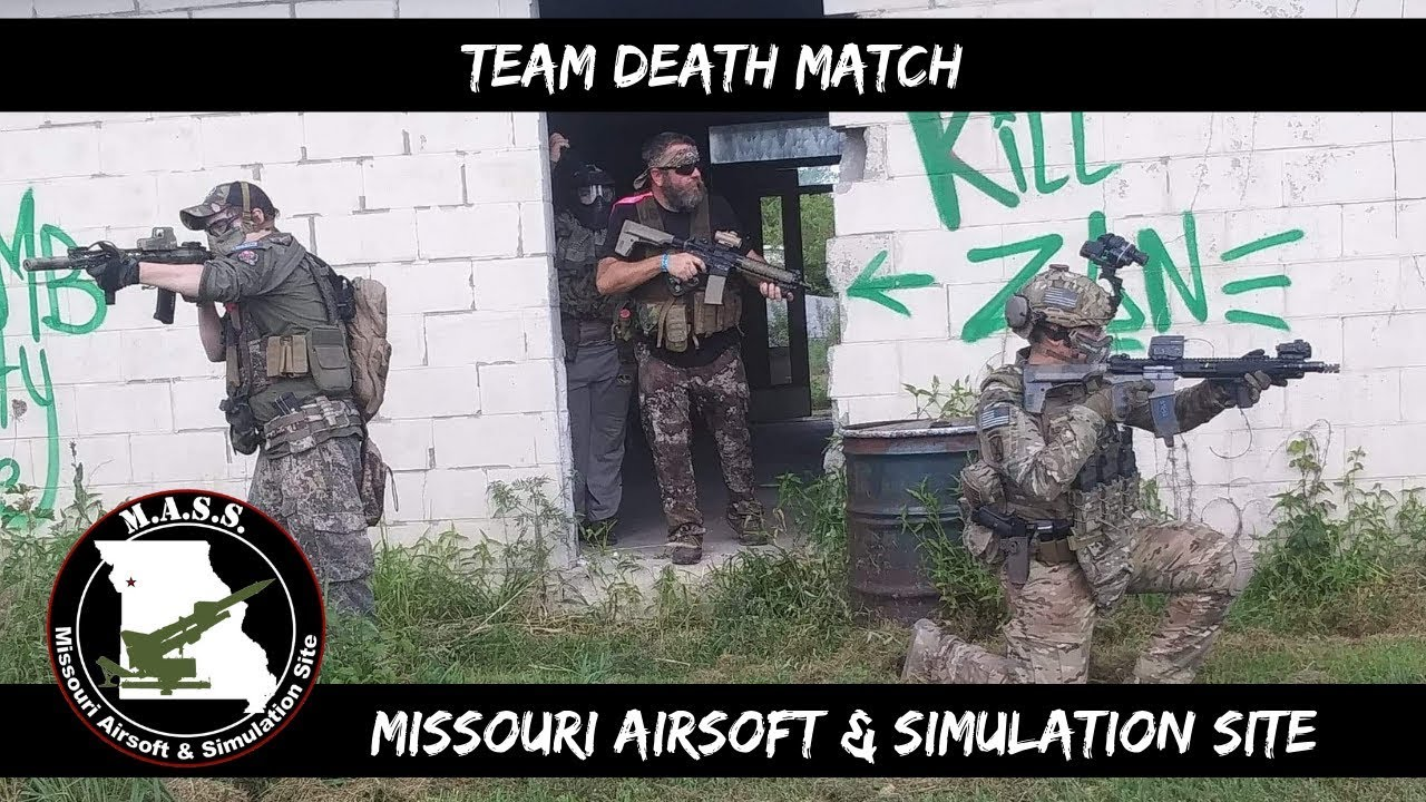 Airsoft – Match à mort par équipe! Site d'airsoft et de simulation du Missouri