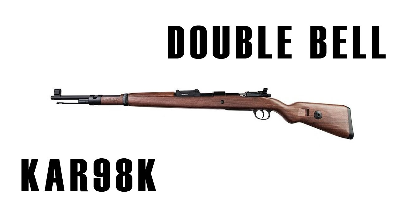 Avis sur Double Bell Shell Ejecting Airsoft Kar98K