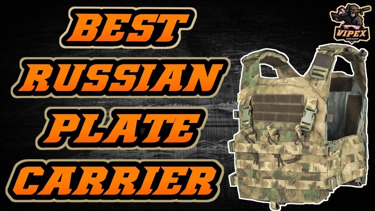 Le meilleur transporteur de plaques russes Airsoft | ANA MK2