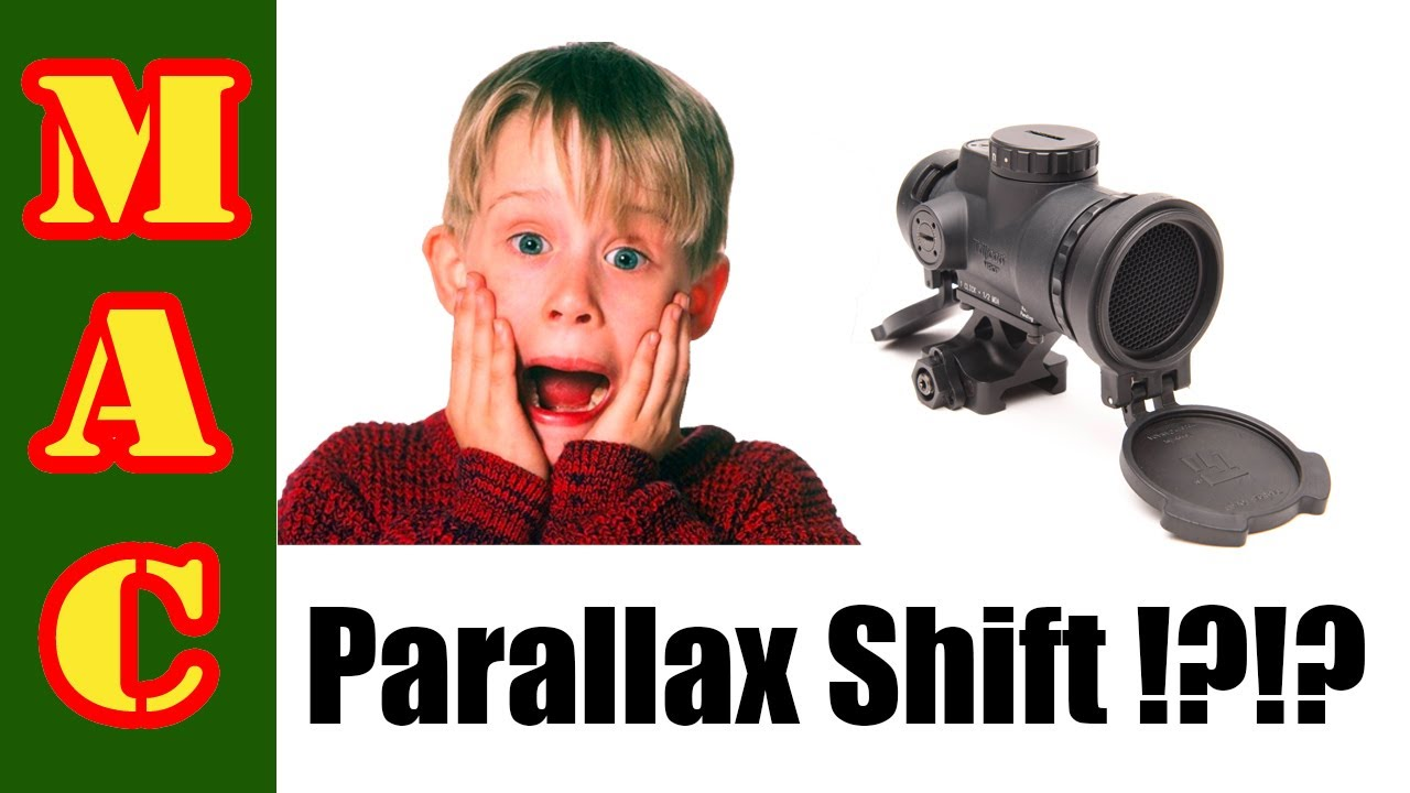 Red Dot Sight Parallax Shift – Est-ce si important?!?!?