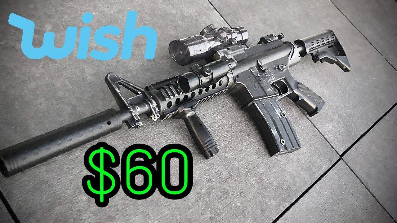 Carabine électrique M4 de 60 $ de Wish – Déballage et examen