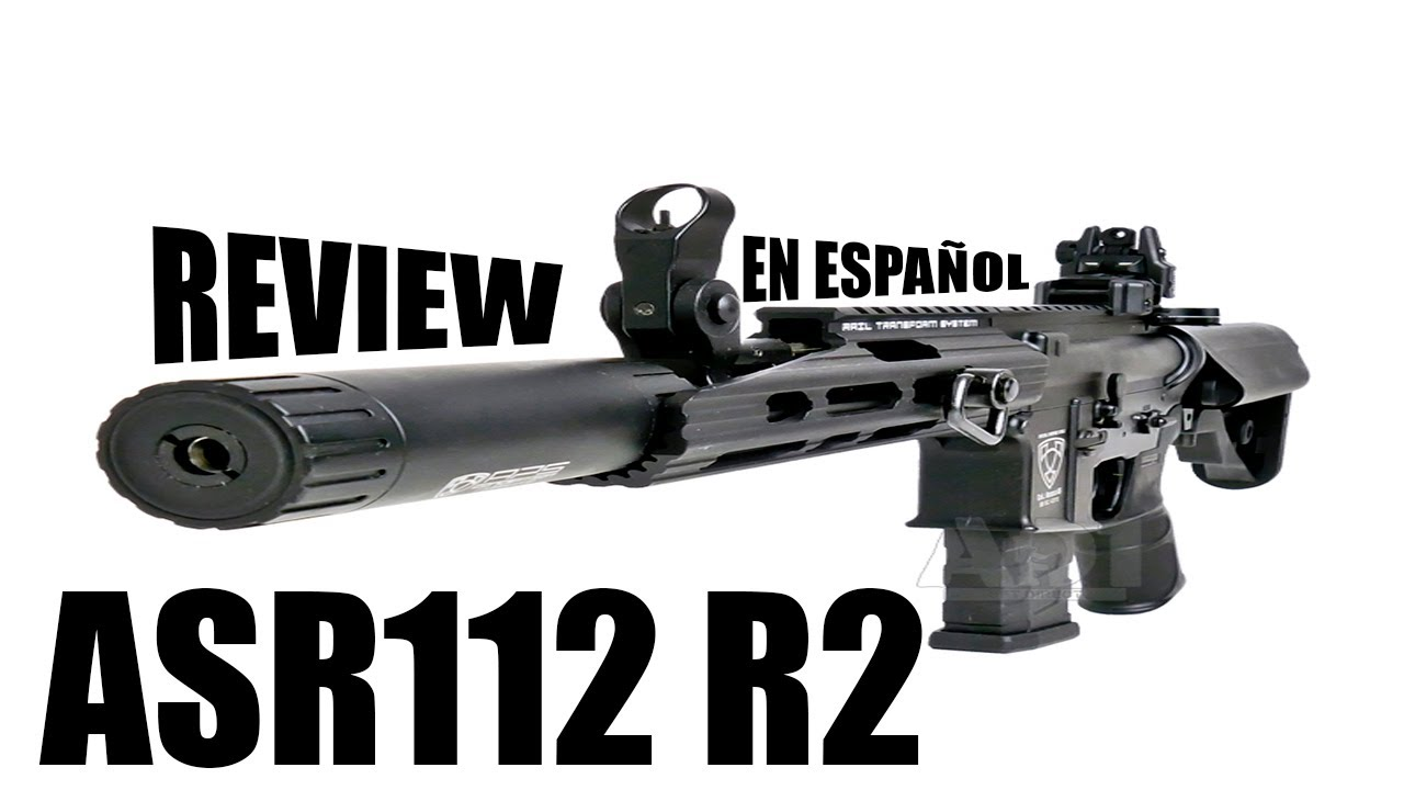 Examen de l'APS ASR112 R2    Fusil EBB    Airsoft en espagnol