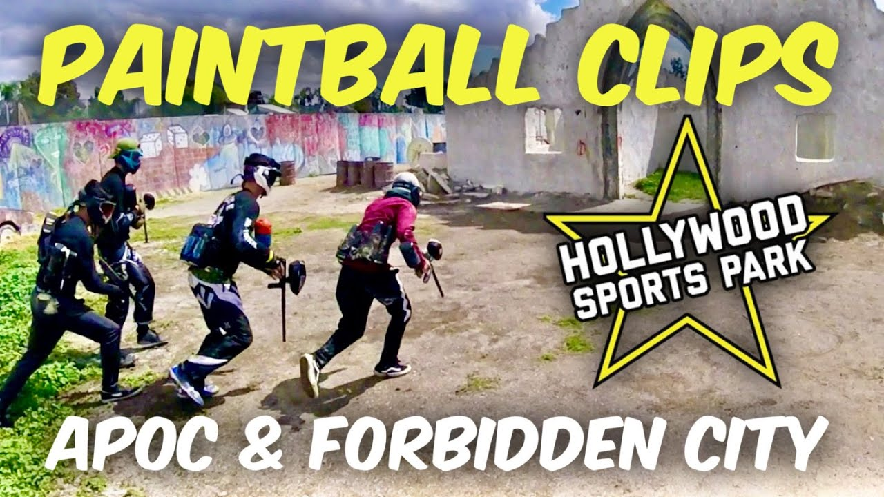 Paintball Highlights – Hollywood Sports – Screaming Turtle Squad – Mars 2020