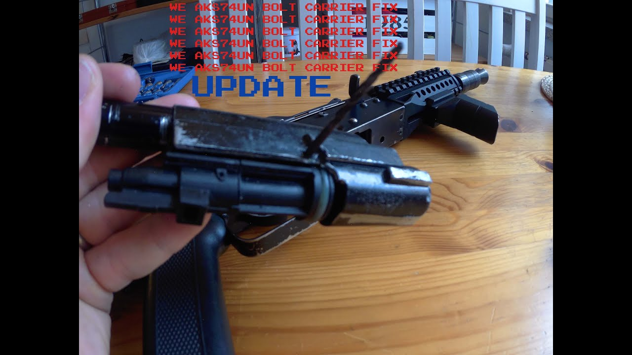 Airsoft Gas AK-Variant Bolt / NPAS / Spring Guide Fixes