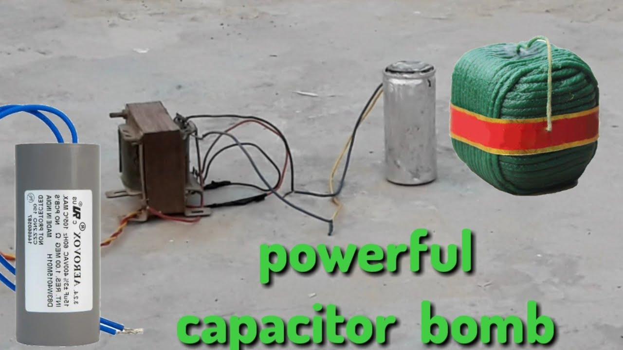 le condensateur super puissant BOMB _ est devenu un succès lorsque nous avons bombardé le CONDENSATEUR