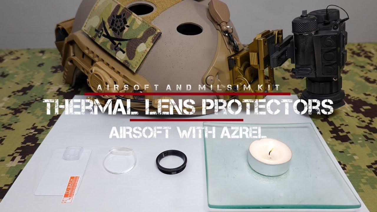 Procédure pas à pas pour imageurs thermiques et lentilles de protection – Airsoft avec Azrel