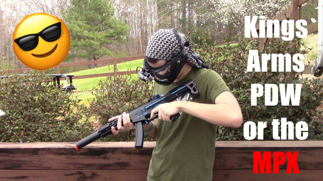 C'est TECHNIQUEMENT un MPX | Test du King Arms 9mm SBR Airsoft