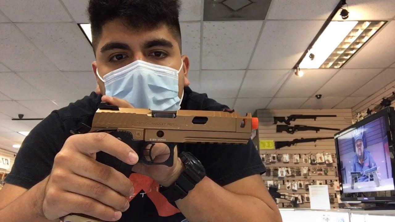 Critique de 1 minute Feat: Echo 1 TAP GBB Pistol