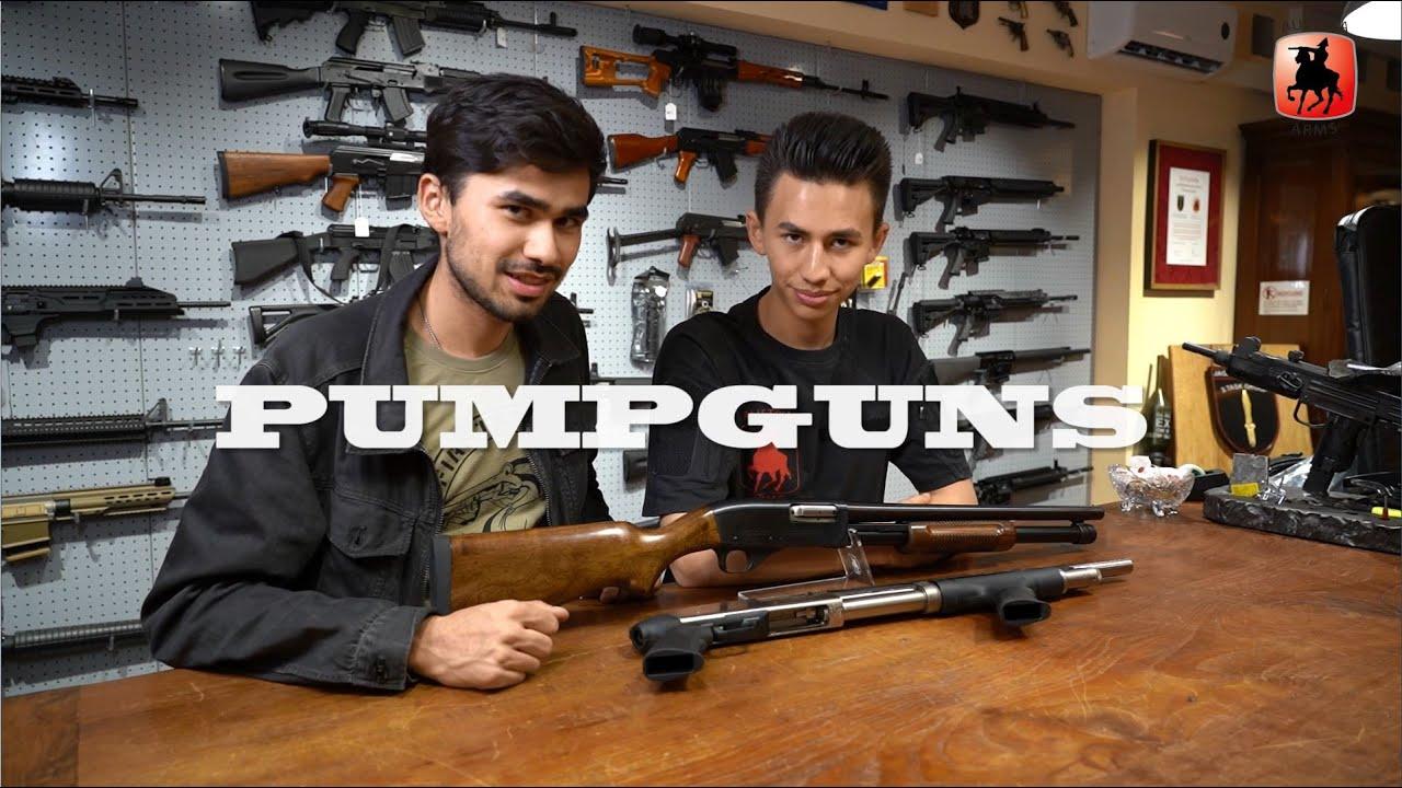 PUMPGUNS – Revue + test de tir