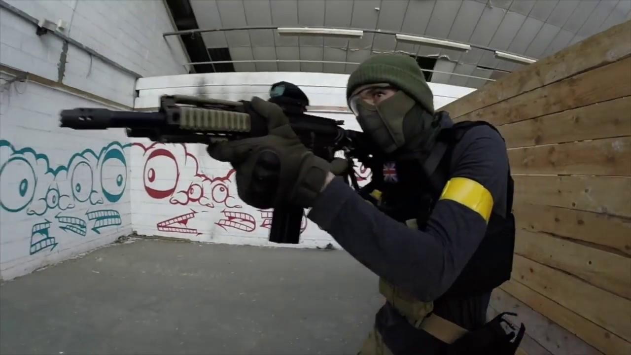 The Depot CQB Airsoft War Games