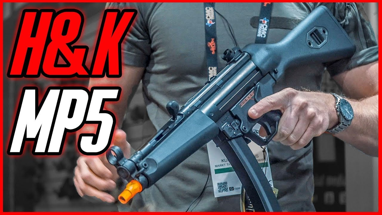 VFC H&K MP5 par Umarex – Shot Show 2019 GsP Airsoft