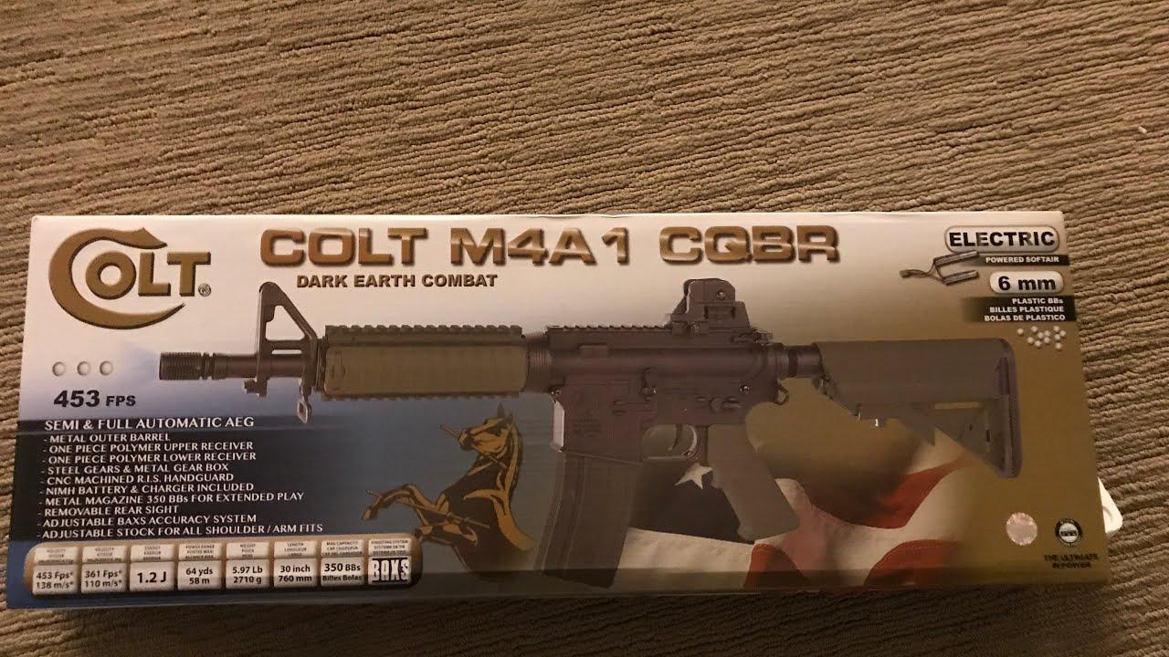 Chronique de Colt CQBR Airsoft