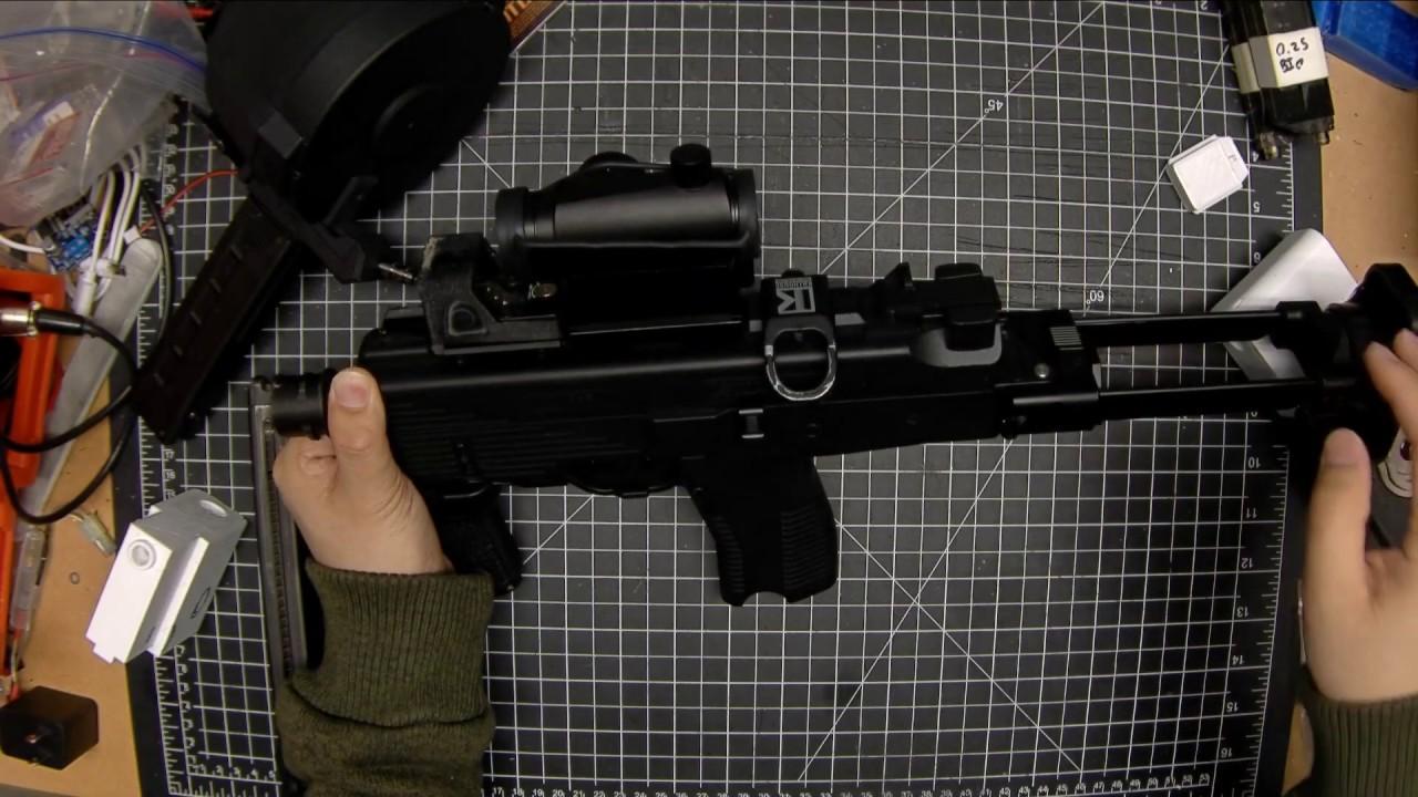 Airsoft Teching and Teardowns – KWA MP9