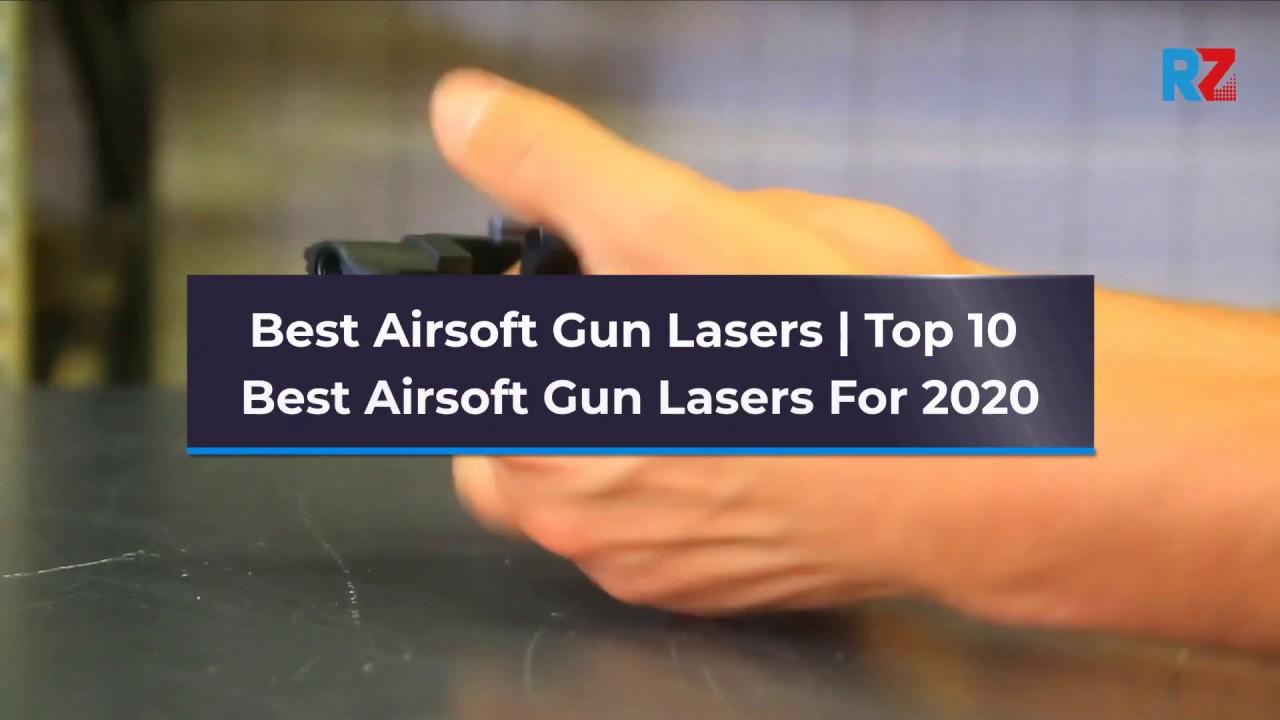 Meilleurs lasers à airsoft | Top 10 des meilleurs lasers à airsoft pour 2020