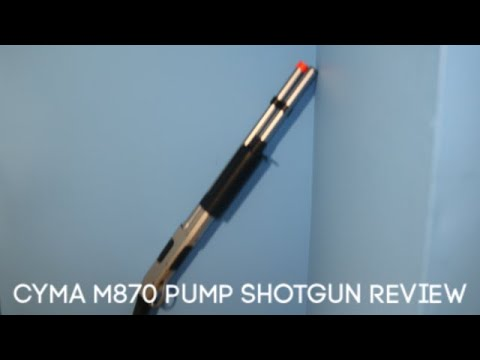 Test du fusil à pompe Airsoft CYMA M870