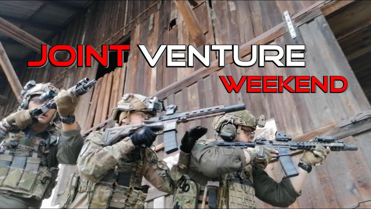 Week-end de formation // Joint Venture // Allemand Milsim Airsoft
