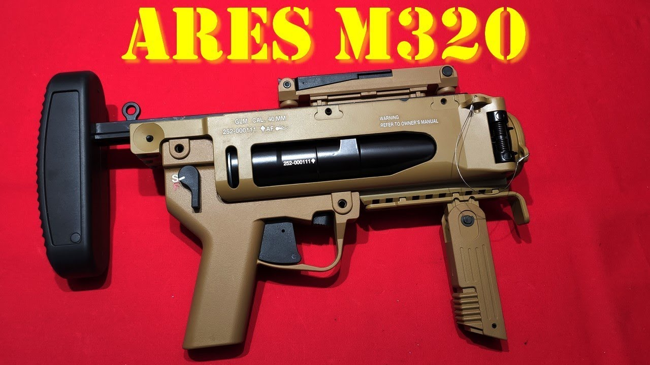 Airsoft – Ares M320 [French]
