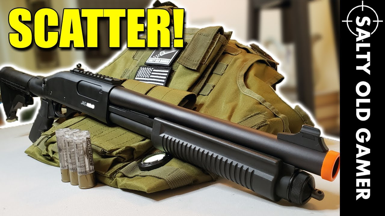 Arme de poing JAG Arms TS   SaltyOldGamer Airsoft Review