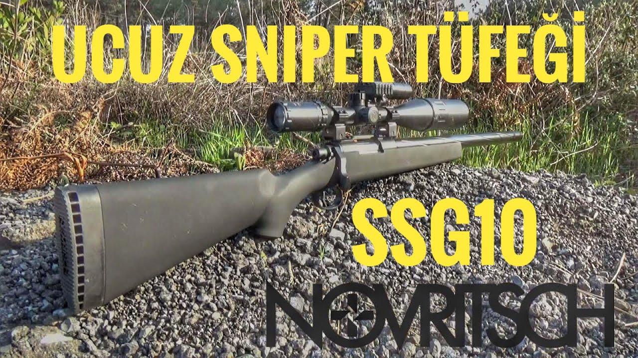 NOVRITSCH SSG10 REVUE TURQUE! Le fusil de sniper le moins cher à acheter! Sous-titres anglais