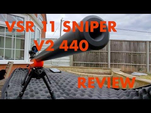 VSR11 AIRSOFT SNIPER RIFLE V2 440 REVUE