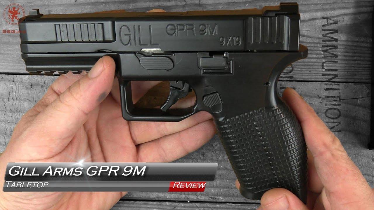 Revue de table et bandelette de table Gill Arms GPR 9M
