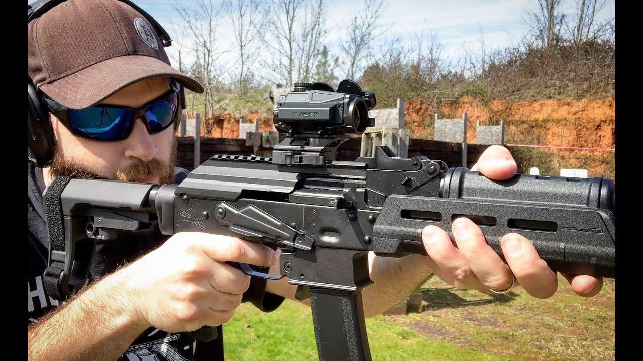 Présentation de l'AK-V 9 mm AK