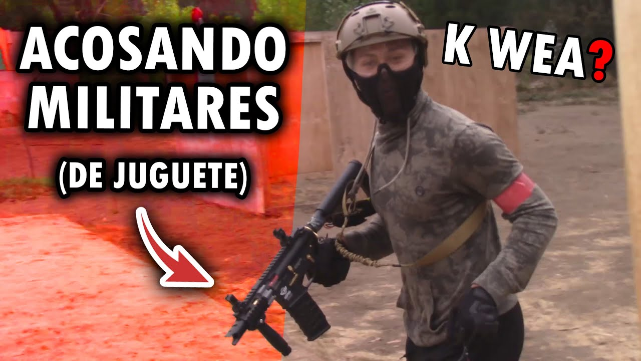 "Harcèlement ""MILITAIRE"" 😬 ▬ Airsoft Gameplay ▬ SENSUAL TACTICAL Vlog ▬ Gémissements de 🐢"
