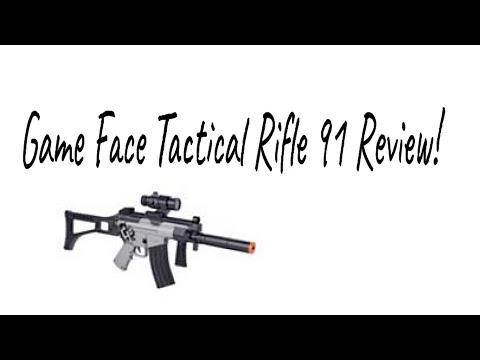 Game Face Tactical Rifle 91 Review! (fait partie du kit Ghost de Game Face)