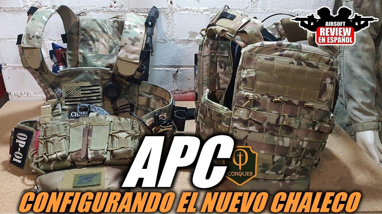 Configuration de ma NOUVELLE CONQUÊTE APC   Airsoft Review espagnol