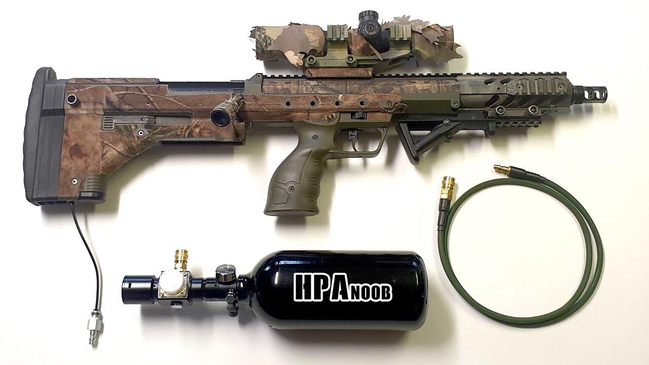 La conversion de Silverback SRS en HPA, en vaut-il la peine? (Airsoft Ghillie Sniper Loadout)